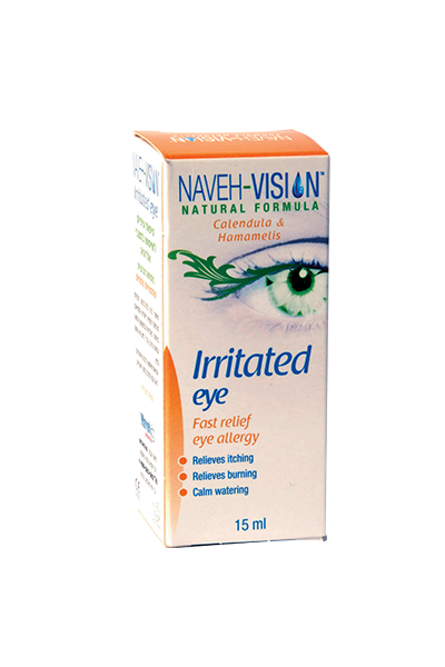 Irritated Eye Naveh Vision